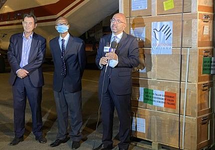 SUDAN: ARRIVO A KHARTOUM DI UN VOLO UMANITARIO DELLA COOPERAZIONE ITALIANA