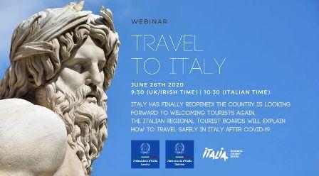 TURISMO: LE REGIONI ITALIANE SI PRESENTANO IN UK E IRLANDA