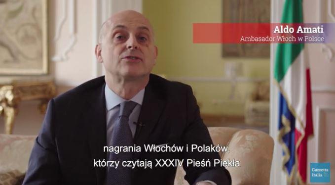 Il messaggio di unità e speranza di Dante: l'Ambasciatore Amati (Polonia) celebra il DanteDì