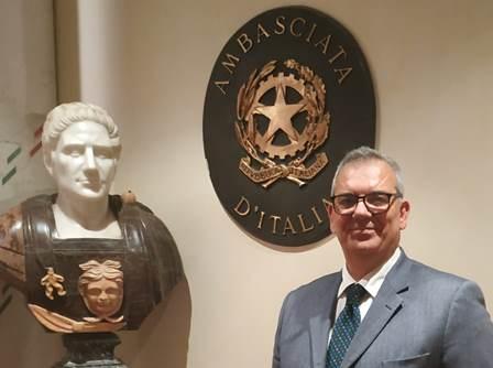 """ONORIFICENZA PER RICCARDO DI MATTEO """"AMBASCIATORE DEL MADE IN ITALY NEL MONDO"""""""