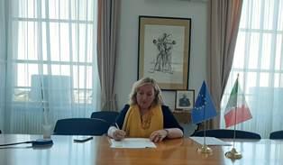IL VICE MINISTRO DEL RE ALLA CELEBRAZIONE DELL'ANNIVERSARIO DELLA DICHIARAZIONE DI VARSAVIA
