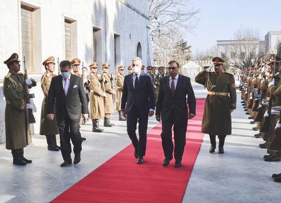 Il Ministro Guerini a Kabul