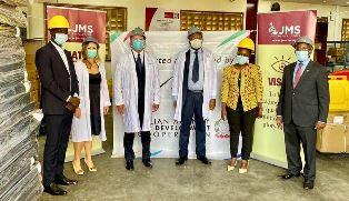UGANDA: CONSEGNATO IL PRIMO CARICO DI AIUTI PER LA LOTTA A COVID-19