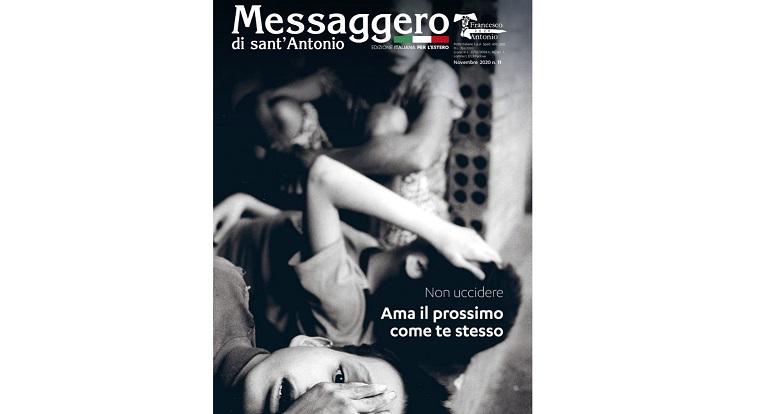 MESSAGGERO DI SANT'ANTONIO: USCITO IL NUMERO DI NOVEMBRE