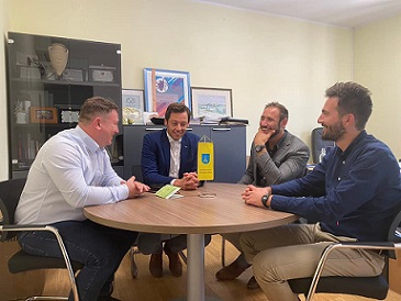 ASILO ITALIANO DI SISSANO: L'UI E LA CNI INCONTRANO LE AUTORITÀ CITTADINE