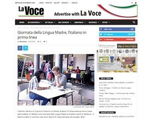 GIORNATA DELLA LINGUA MADRE: L'ITALIANO IN PRIMA LINEA – di Alessandro Parodi