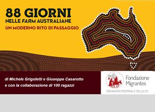 """""""AUSTRALIA DAY"""": PRESENTATO A CONEGLIANO IL VOLUME """"88 GIORNI NELLE FARM AUSTRALIANE"""""""