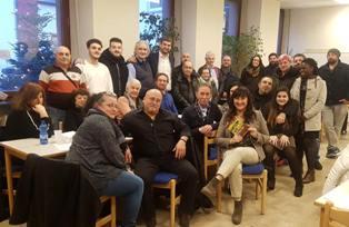 GARAVINI E UNGARO (IV) ALL'INAUGURAZIONE DEL COMITATO ITALIA VIVA DI MANNHEIM