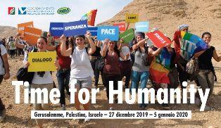 TIME FOR HUMANITY: A BETLEMME INIZIATIVA DELLA TAVOLA E DEGLI ENTI LOCALI PER LA PACE