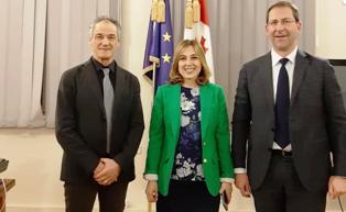 MINISTRI DELL'ENOLOGIA GEORGIANI CHIEDONO LA COLLABORAZIONE AL TRENTINO