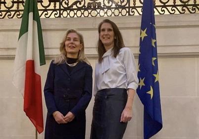UNANIME APPREZZAMENTO DELLA COMUNITÀ ITALIANA IN BELGIO E DEI BENEMERITI DELLA REPUBBLICA PER L'AMBASCIATRICE ELENA BASILE