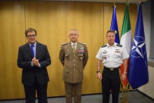 IL GENERALE MASSIMO PANIZZI DECORATO ALLA NATO CON LA LEGIONE DEL MERITO STATUNITENSE