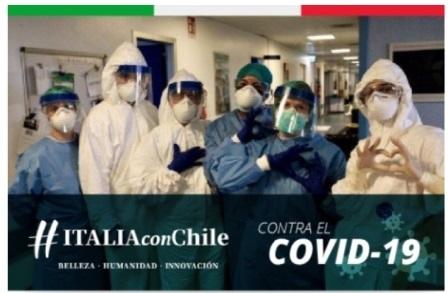 ITALIA CON CHILE CONTRA EL COVID