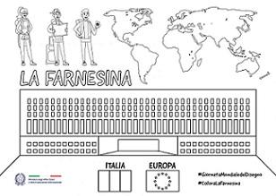 GIORNATA MONDIALE DEL DISEGNO: #COLORALAFARNESINA