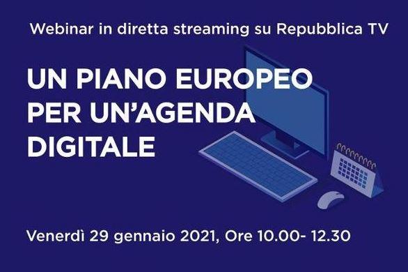 Un piano europeo per un'agenda digitale italiana: domani il webinar del Parlamento Europeo in Italia