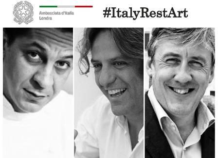#ITALYRESTART: L'AMBASCIATA D'ITALIA A LONDRA PER L'ENOGASTRONOMIA ITALIANA