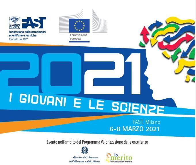 """""""I GIOVANI E LE SCIENZE"""": APERTE LE CANDIDATURE DEL CONCORSO DI FAST E COMMISSIONE UE"""