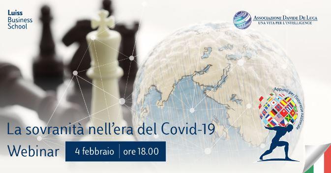 La sovranità nell'era del Covid-19: il Ministro Amendola al webinar della Luiss