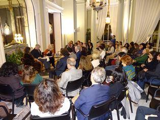 LA GIORNATA DELLA MEMORIA A MADRID: CONVERSAZIONE IN AMBASCIATA CON LA SCRITTRICE DANIELA PADOAN