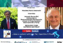 """RECOVERY FUND: L'AMBASCIATORE BERNARDINI INTERVISTATO PER IL CICLO """"OK ITALIA, PARLIAMONE"""""""