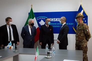 PRISTINA: AMBASCIATA AICS E CONTINGENTE KFOR INSIEME A SOSTEGNO DEL KOSOVO