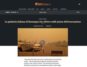 LA GELATERIA ITALIANA DI BERMAGUI CHE OFFRIVA CAFFÈ PRIMA DELL