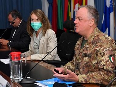 LIBANO: PRIMA VISITA UFFICIALE DELL'AMBASCIATORE BOMBARDIERE ALLA MISSIONE UNIFIL