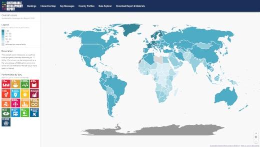 SUSTAINABLE DEVELOPMENT REPORT 2020: GLI OBIETTIVI DI SVILUPPO SOSTENIBILE POSSONO GUIDARE UNA MIGLIORE RIPRESA DOPO COVID-19