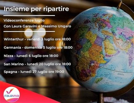 ITALIA VIVA EUROPA: AL VIA NUOVO CICLO DI INCONTRI CON GARAVINI E UNGARO