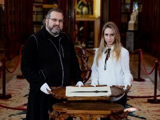 CA' FOSCARI: SPADA DI 5000 ANNI FA SCOPERTA DA UNA DOTTORANDA NEL MONASTERO ARMENO DI VENEZIA