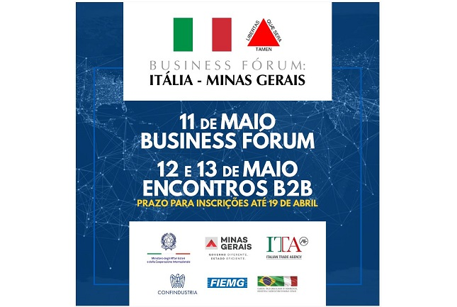 Italia-Minas Gerais: a maggio il Business Forum
