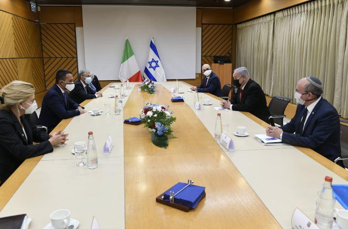 DI MAIO IN MISSIONE IN ISRAELE E PALESTINA