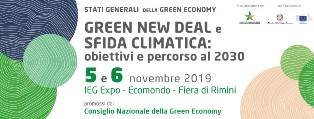 A RIMINI GLI STATI GENERALI DELLA GREEN ECONOMY 2019: L'ITALIA HOT SPOT DEL CLIMA