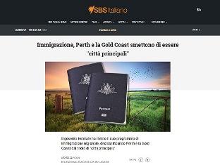"""IMMIGRAZIONE: PERTH E LA GOLD COAST SMETTONO DI ESSERE """"CITTÀ PRINCIPALI"""" – di Carlo Oreglia"""