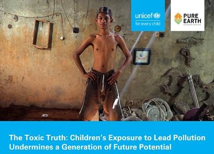 INQUINAMENTO/ UNICEF: 1 BAMBINO SU 3 AVVELENATO DA PIOMBO