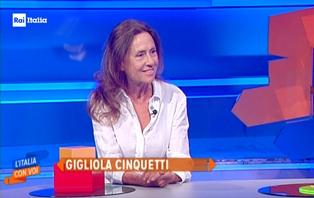 """RAI ITALIA: GIGLIOLA CINQUETTI A """"L'ITALIA CON VOI"""""""