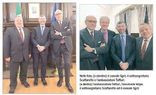 """SCALFAROTTO: """"IL SISTEMA ITALIA VINCE IN CANADA"""" - Giorgio Mitolo"""