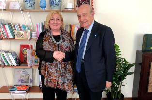 INFANZIA E COOPERAZIONE: DEL RE RICEVE IL PRESIDENTE DELL'UNICEF ITALIA