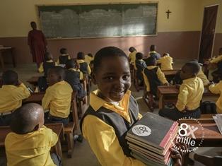 8X1000: IN MALAWI LA SPERANZA È ARRIVATA IN AULA E IN CORSIA