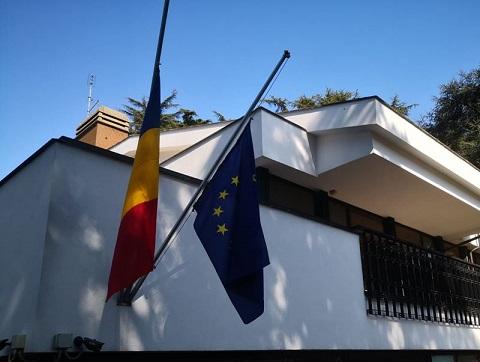 CORONAVIRUS/ L'AMBASCIATA ROMENA IN ITALIA SI UNISCE AL CORDOGLIO PER LE VITTIME