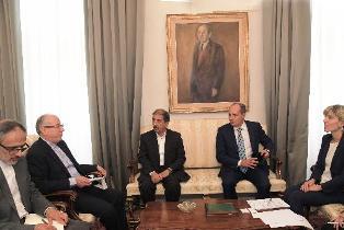 COOPERAZIONE SCIENTIFICA E OPPORTUNITÀ COMMERCIALI: ZILLI (FVG) RICEVE L'AMBASCIATORE IRANIANO