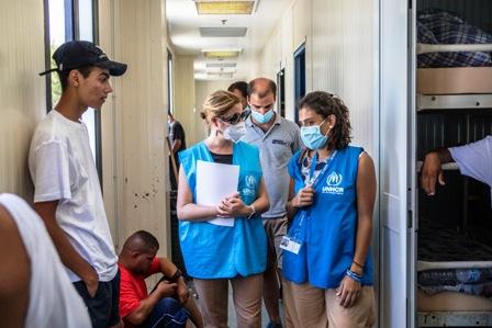RIFUGIATI: CHIARA CARDOLETTI (UNHCR) CONCLUDE LA SUA PRIMA MISSIONE IN SICILIA