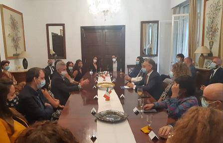 Dakar: l'ambasciatore De Vito incontra funzionari di Onu e Croce Rossa