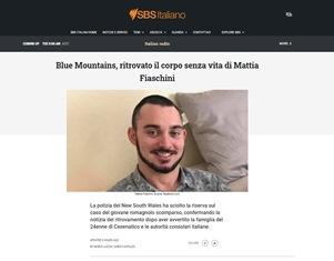 BLUE MOUNTAINS: RITROVATO IL CORPO SENZA VITA DI MATTIA FIASCHINI – di Marco Lucchi e Dario Castaldo