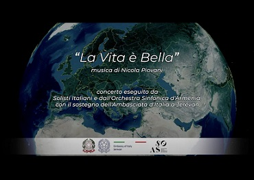 "VIDEO-CONCERTO ""LA VITA È BELLA"" CON L"