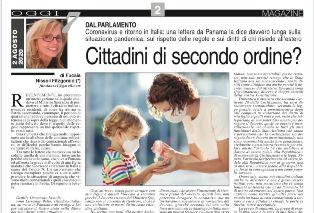 CORONAVIRUS E RITORNO IN ITALIA/ NISSOLI (FI): UNA LETTERA DA PANAMA LA DICE DAVVERO LUNGA SULLA PANDEMIA E I DIRITTI DI CHI RISIEDE ALL
