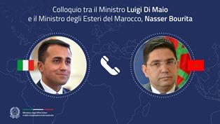 LIBIA: COLLOQUIO TELEFONICO TRA IL MINISTRO DI MAIO E IL COLLEGA MAROCCHINO NASSER BOURITA