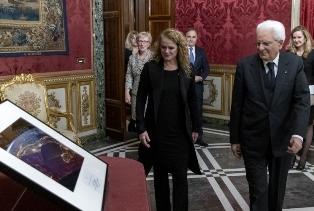 MERLO AL QUIRINALE PER L'INCONTRO TRA IL PRESIDENTE MATTARELLA E LA GOVERNATRICE GENERALE DEL CANADA
