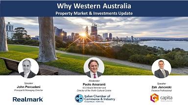 WHY WESTERN AUSTRALIA: ONLINE IL WEBINAR DELLA CCI DI PERTH