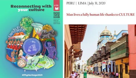 """RECONNECTING WITH YOUR CULTURE"": PRESENTATO A LIMA IL PROGETTO CULTURALE PER I GIOVANI"